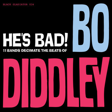 HE'S BAD! 11 BANDS DECIMATE THE BEATS OF BO DIDDLEY main photo