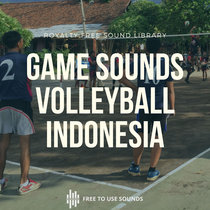 Volleyball Sounds Street Game Sound Effects Indonesia cover art