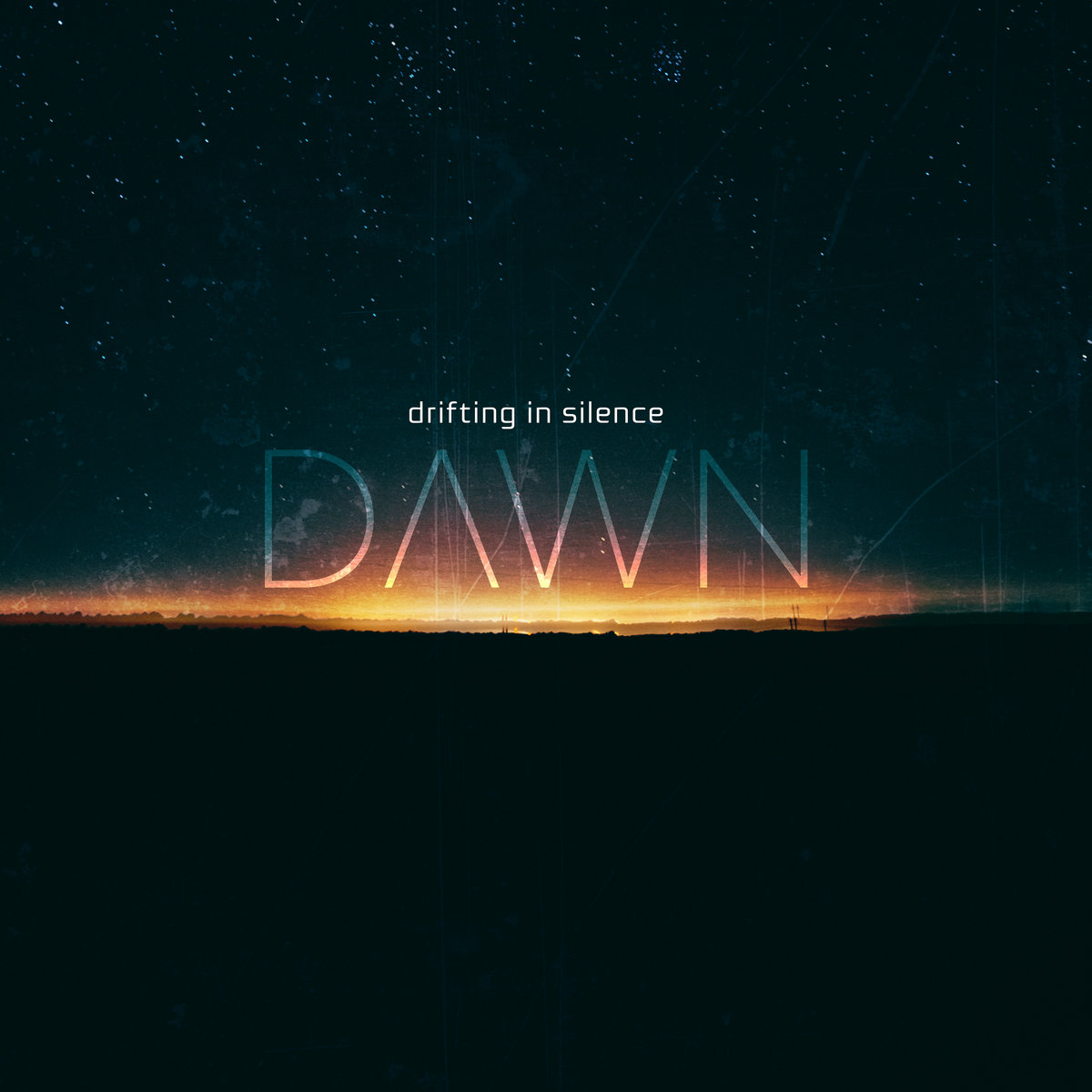 dawn drifting in silence