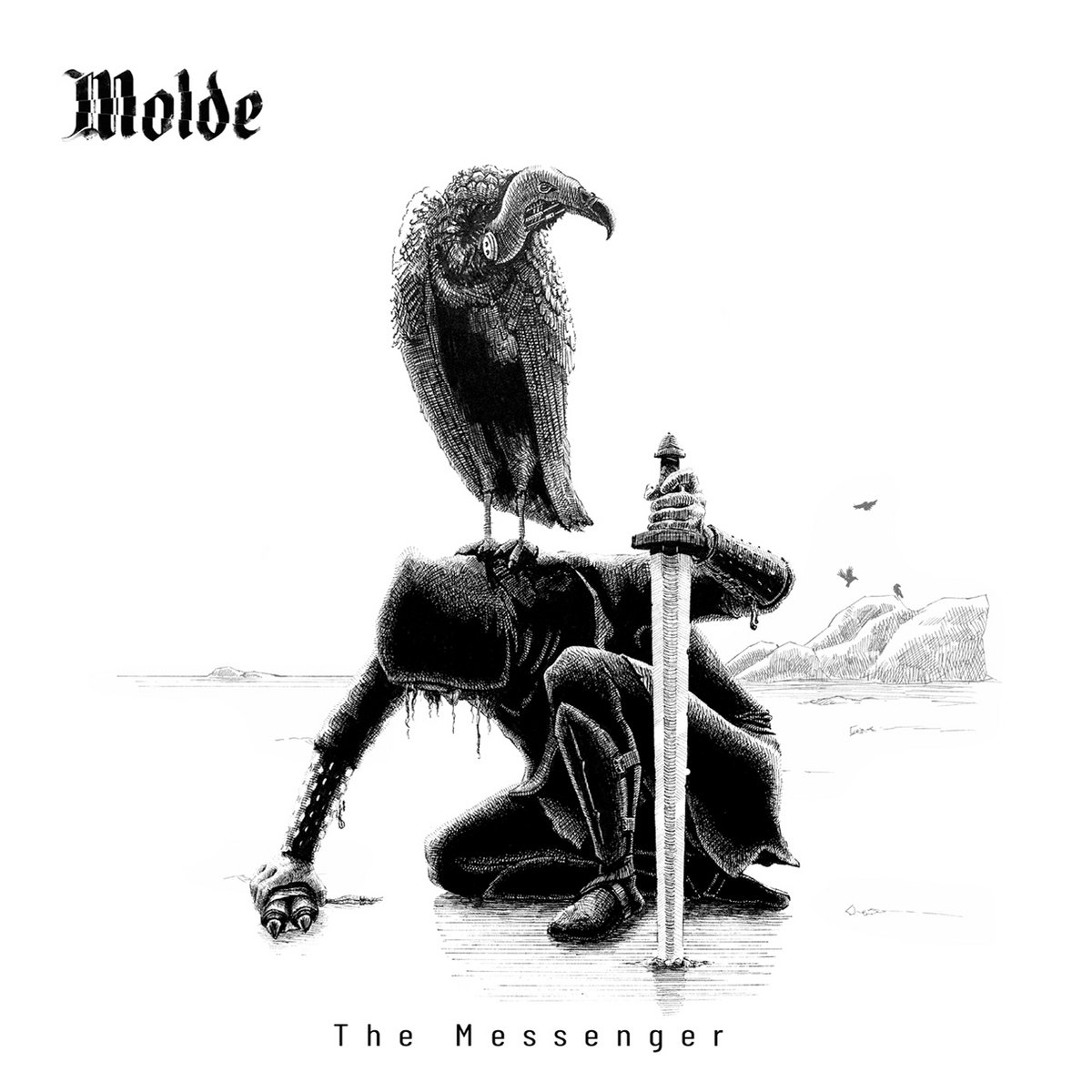 molde the messenger black metal ireland le scribe du rock