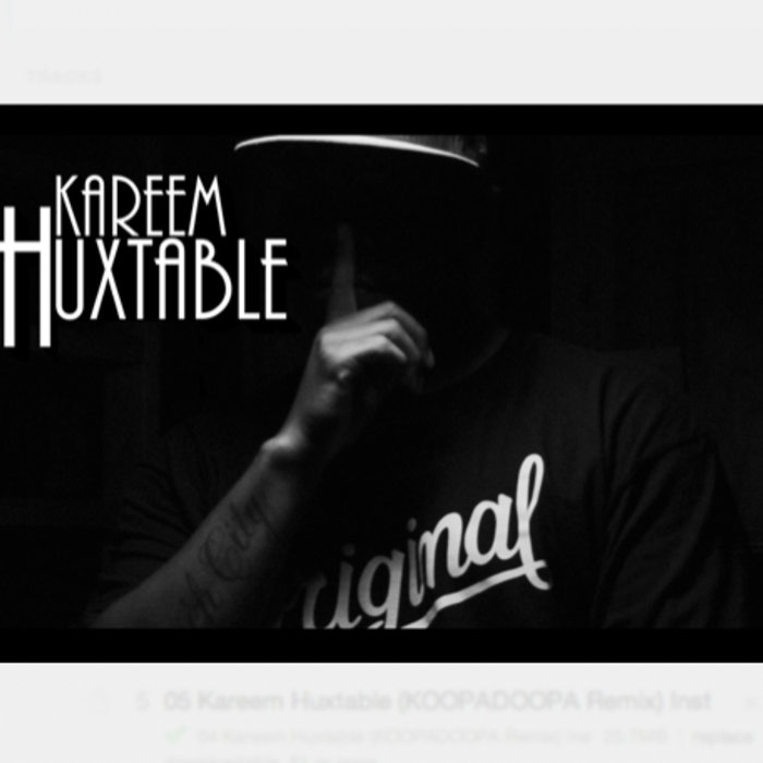 """Kareem Huxtable."" cover art"