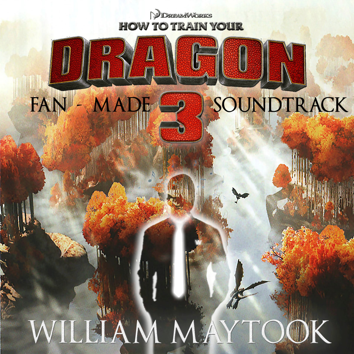 Httyd 3 fan made soundtrack william maytook by william maytook ccuart Image collections