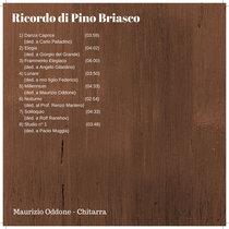 Ricordo di Pino Briasco cover art