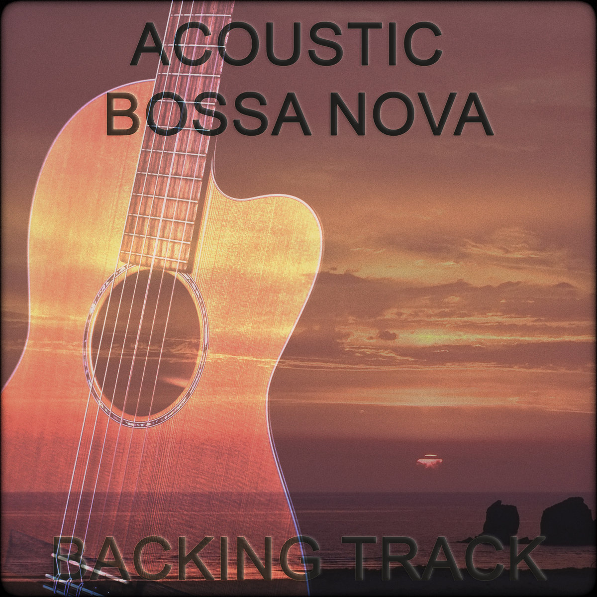 Bossa Nova Latin Acoustic Backing Track | Nick Neblo Backing