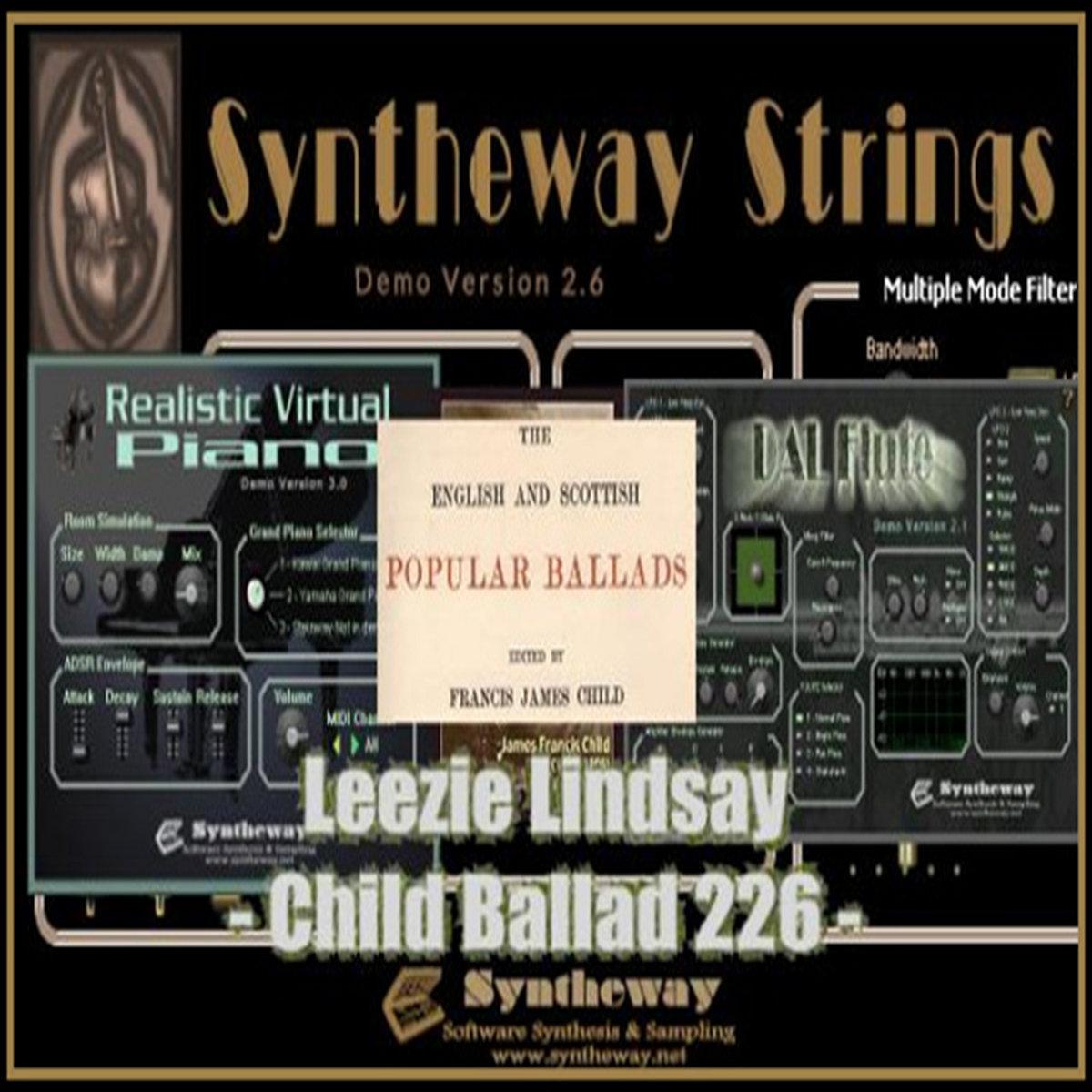 Leezie Lindsay (Child Ballad 226) Syntheway Strings, DAL Flute