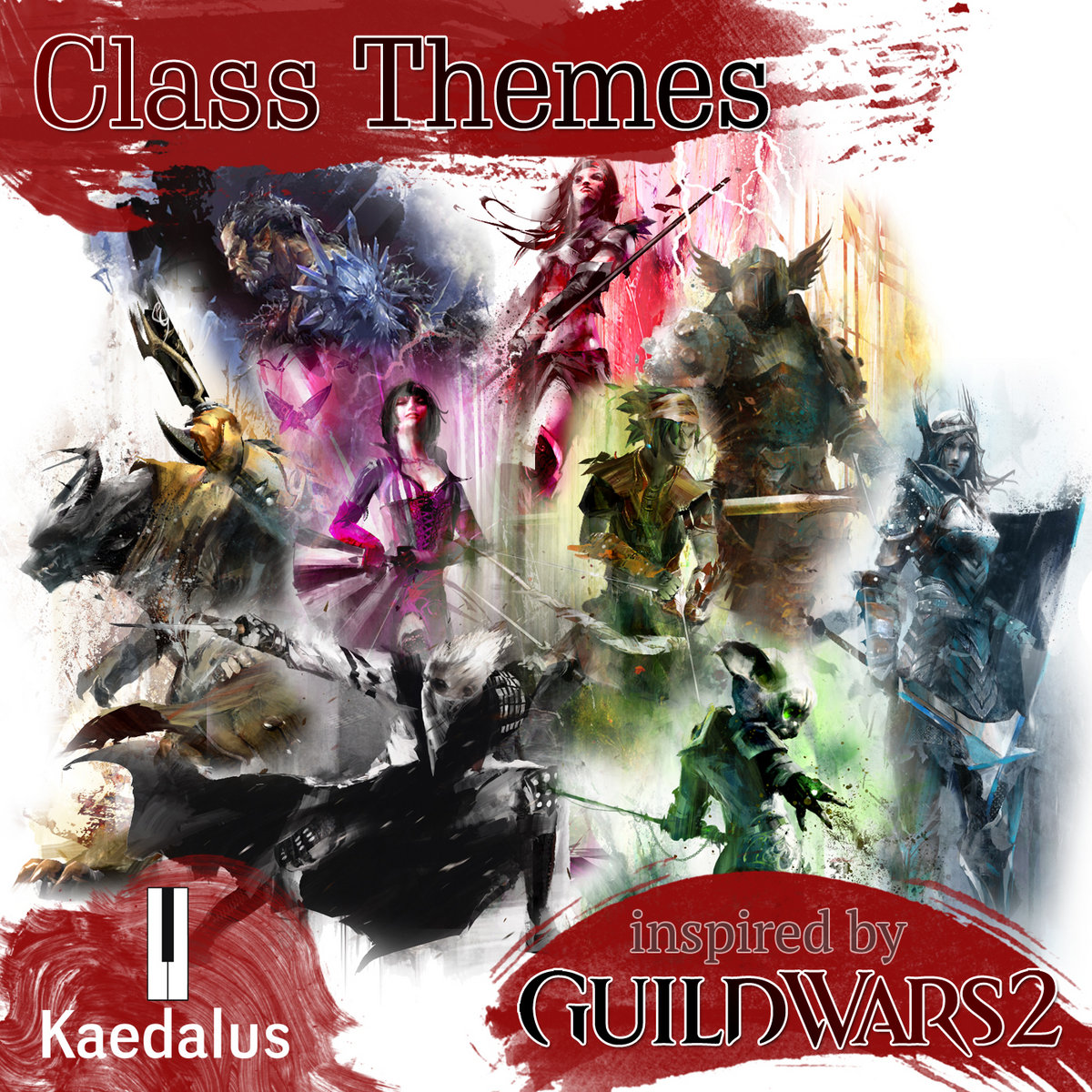Guild Wars 2: Class Themes (inspired by) | Kaedalus
