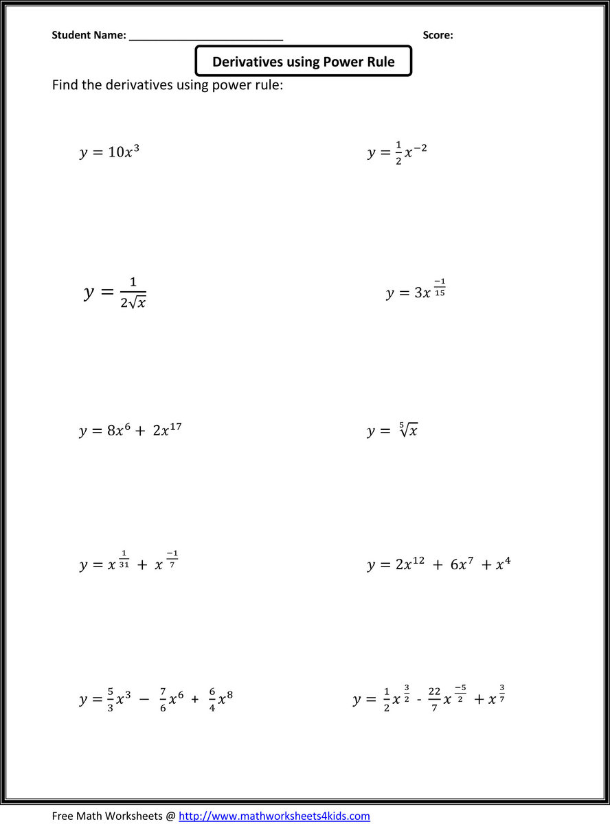 Differentiation And Integration Formulas Pdf Download   siatradopalli