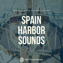 Harbor Sounds Seaside Ambience Spain cover art