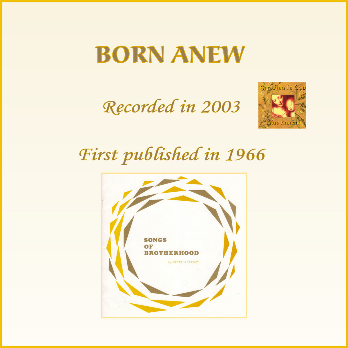 #01 BORN ANEW by Peter Kearney