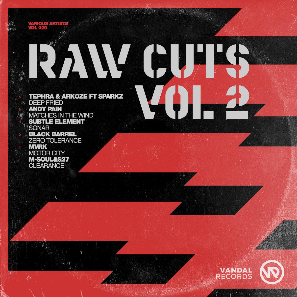 VDL 029 - Various Artists - Raw Cuts Vol . 2