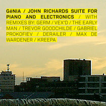 John Richards Suites for Piano and Electronics cover art