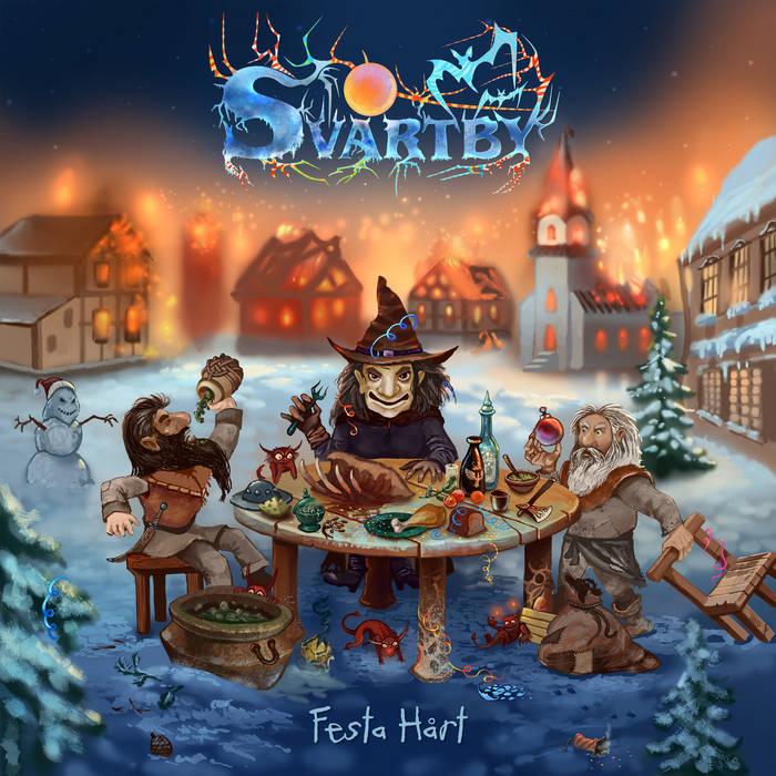Новый EP группы SVARTBY - Festa Hårt (2017)