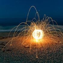 UFO On Beach cover art