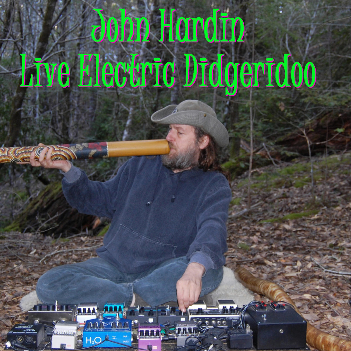 John Hardin Live Electric Didgeridoo