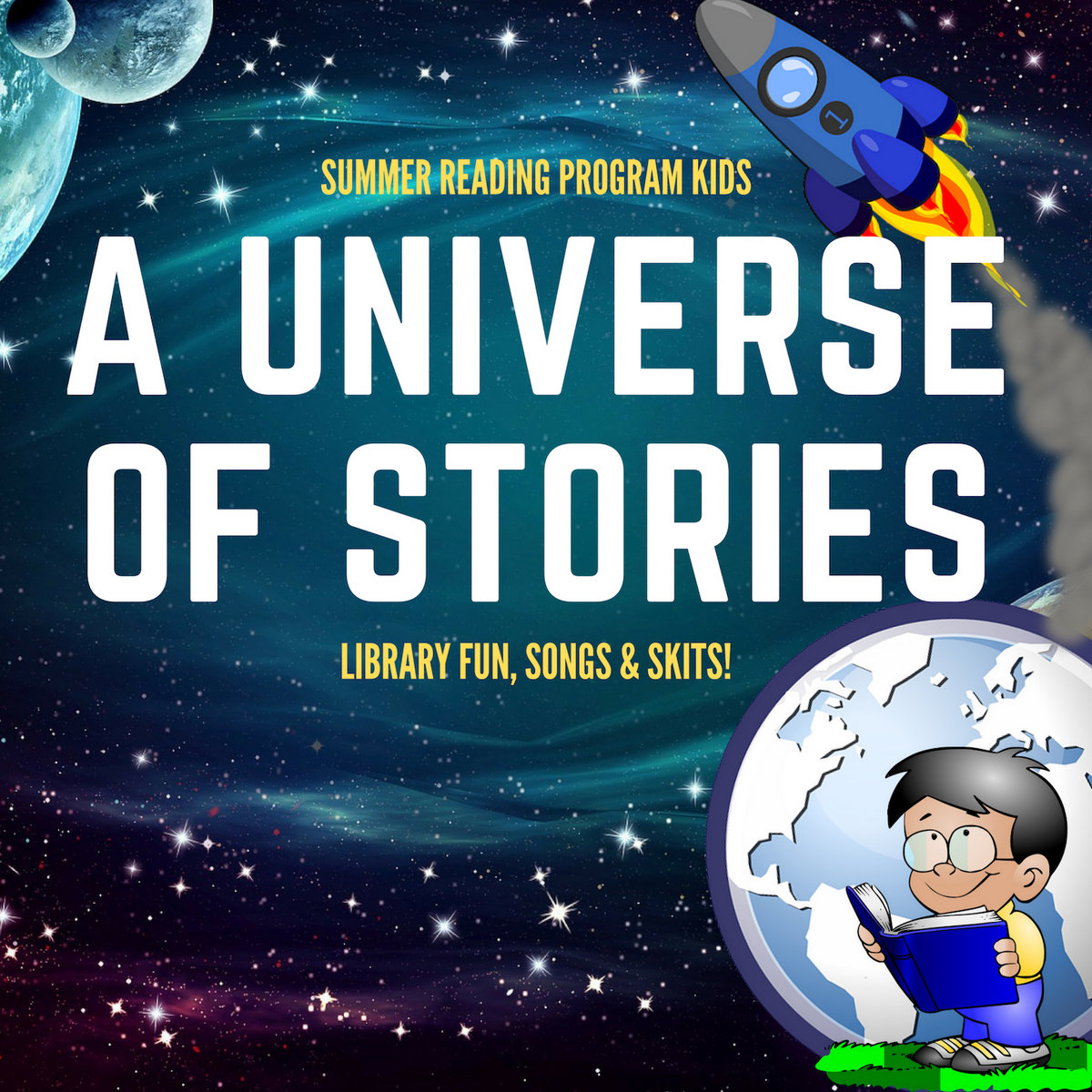 A Universe Of Stories: Library Fun, Songs & Skits! | Jack Norton