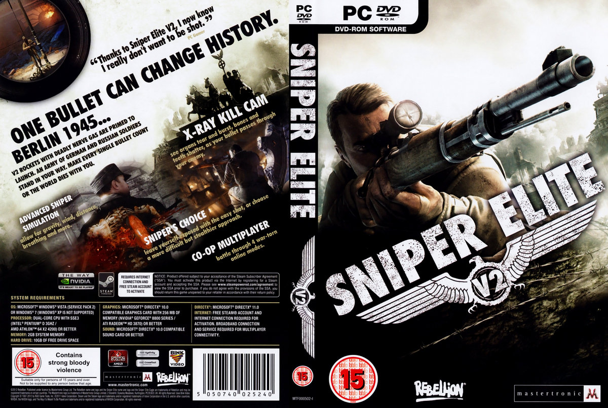 Download sniper elite v2 free for pc game full version working.