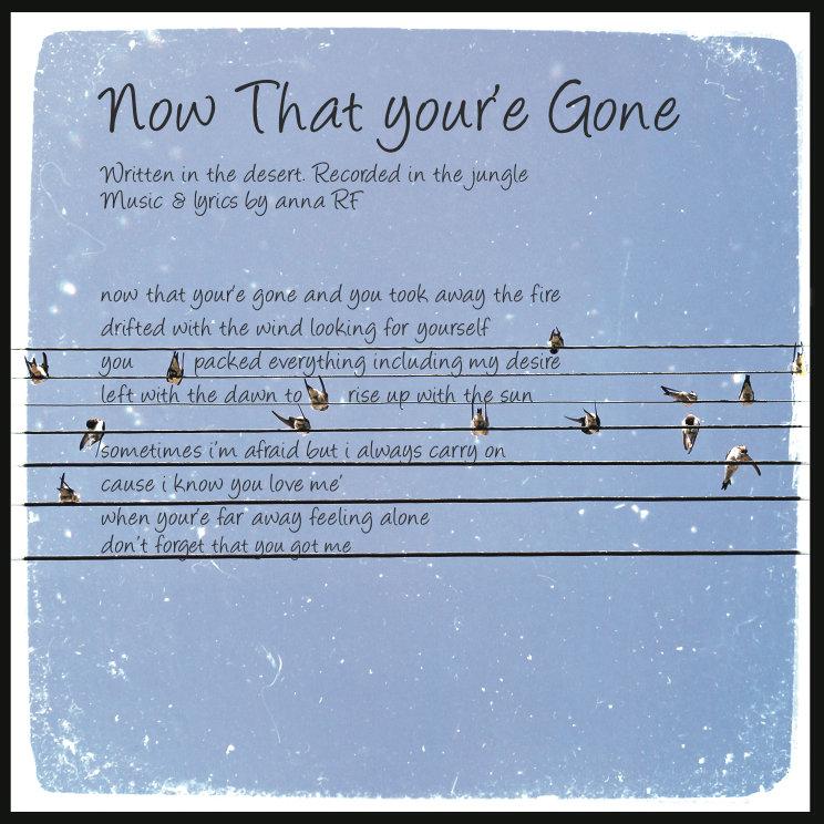 now ur gone lyrics