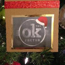 The OK Christmas Album cover art