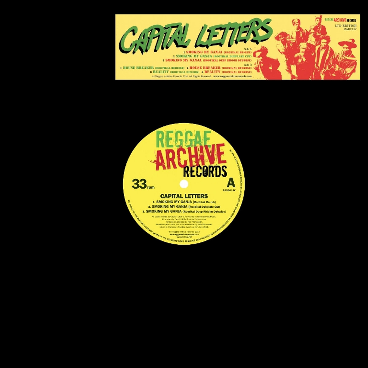 Smoking My Ganja (Rootikal Remix EP) | Reggae Archive Records