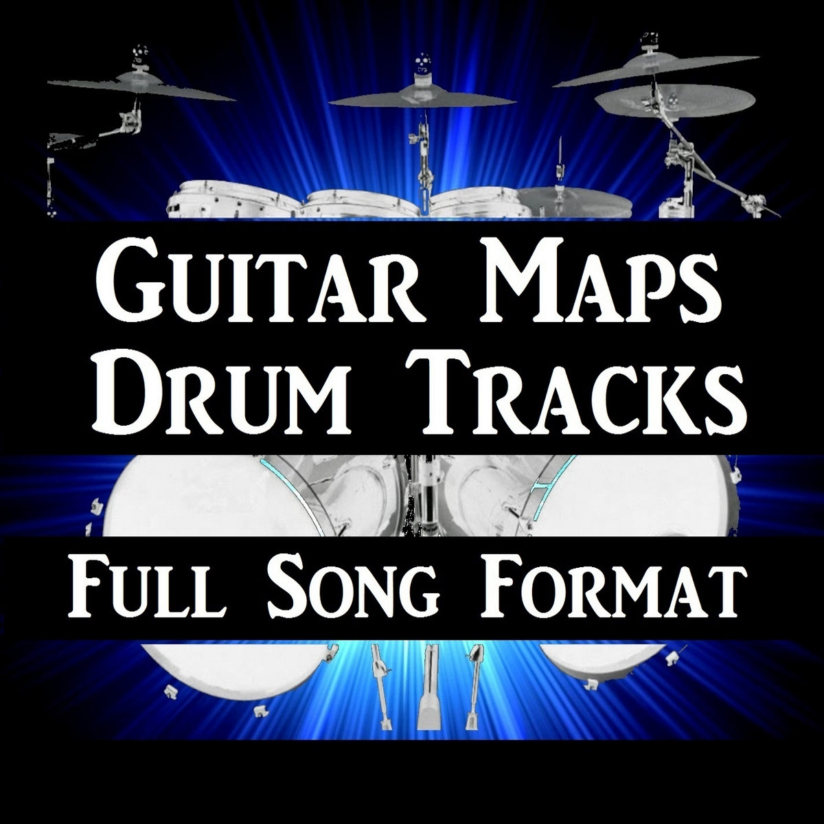 Slow Blues Drum Beat 60 BPM Song Style Drum Track #222
