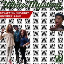 White Mystery LIVE at WFMU New Jersey, 2013 cover art
