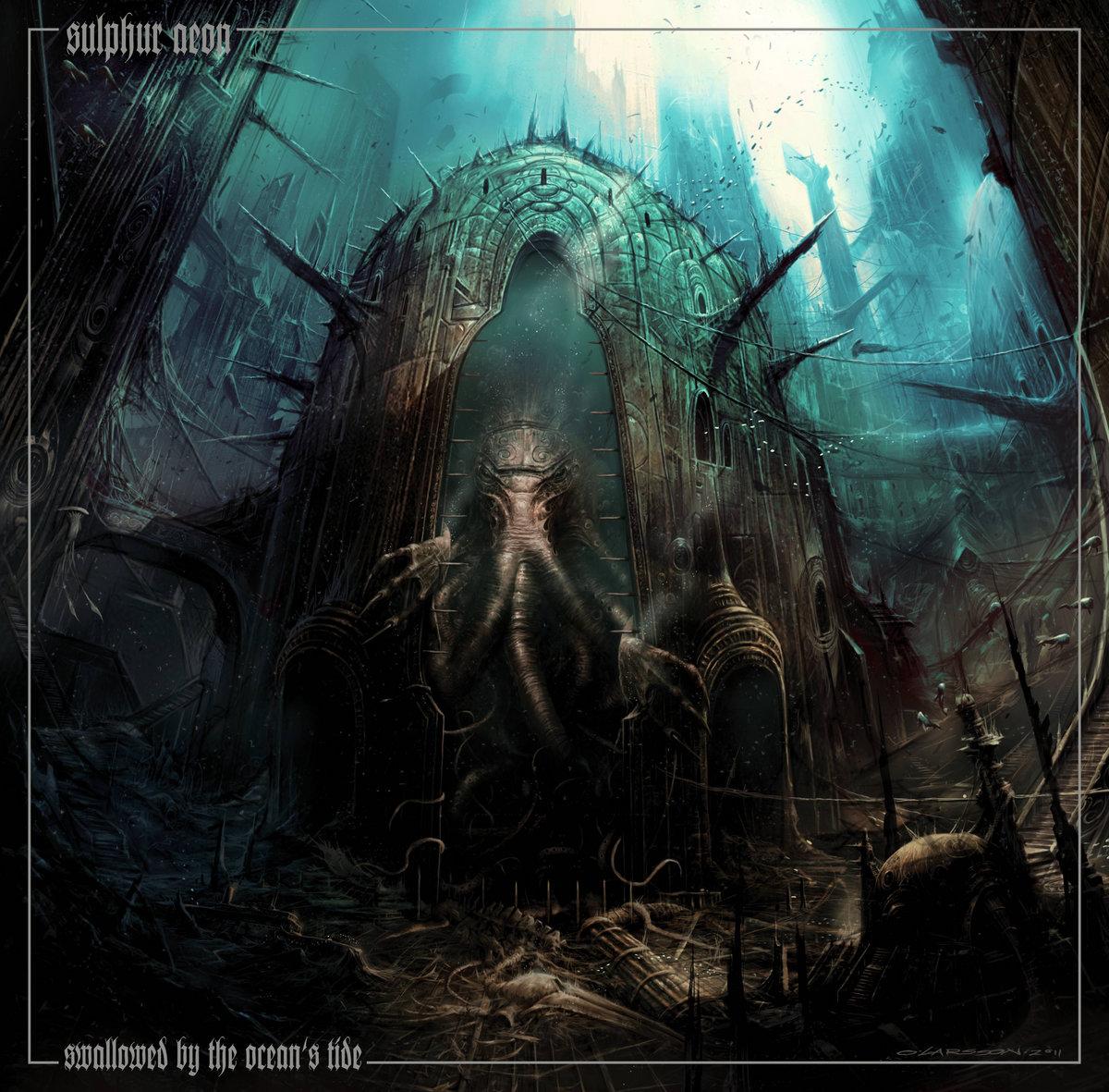 SULPHUR AEON - Swallowed By The Ocean's Tide (Album, 2013)