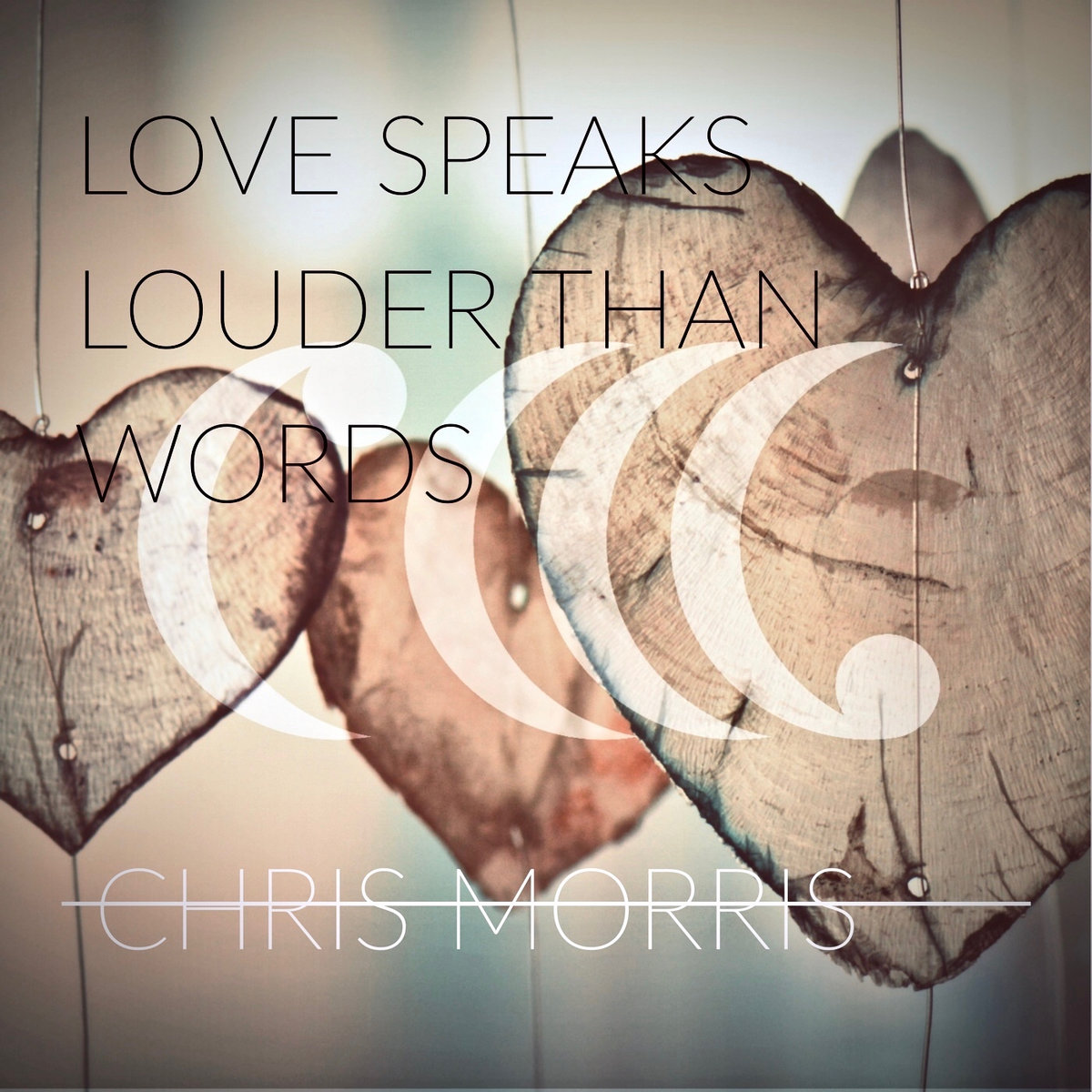 Love Speaks Louder Than Words (Single) by Chris Morris