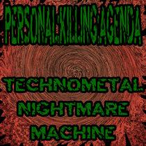 TECHNOMETAL NIGHTMARE MACHINE cover art