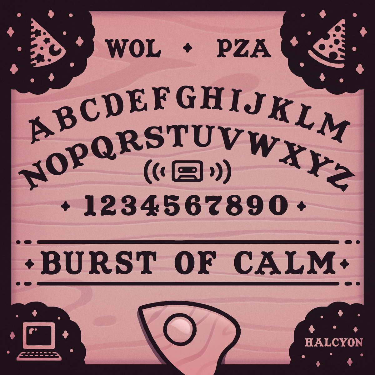 PZA - Ouija Board With Sage   Wizard of Loneliness