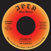 The Tonistics - Holding On cover art