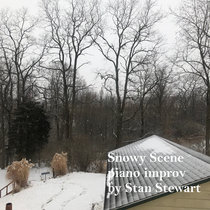 Snowy Scene (piano improv) cover art