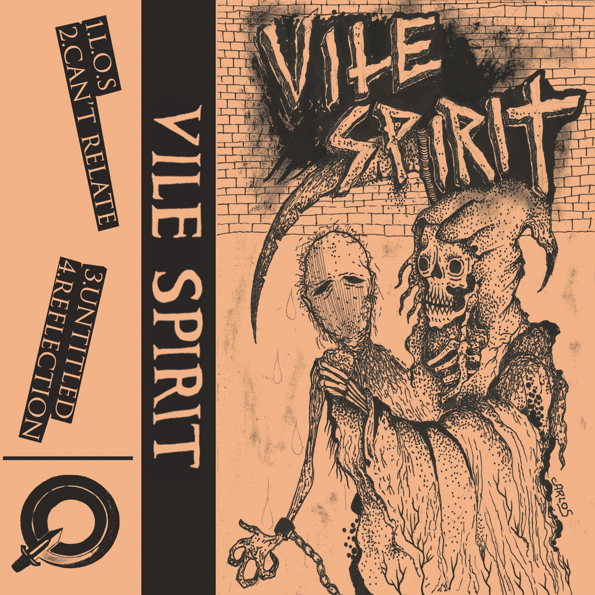 VILE SPIRIT - 2017 DEMO (HC PUNK)