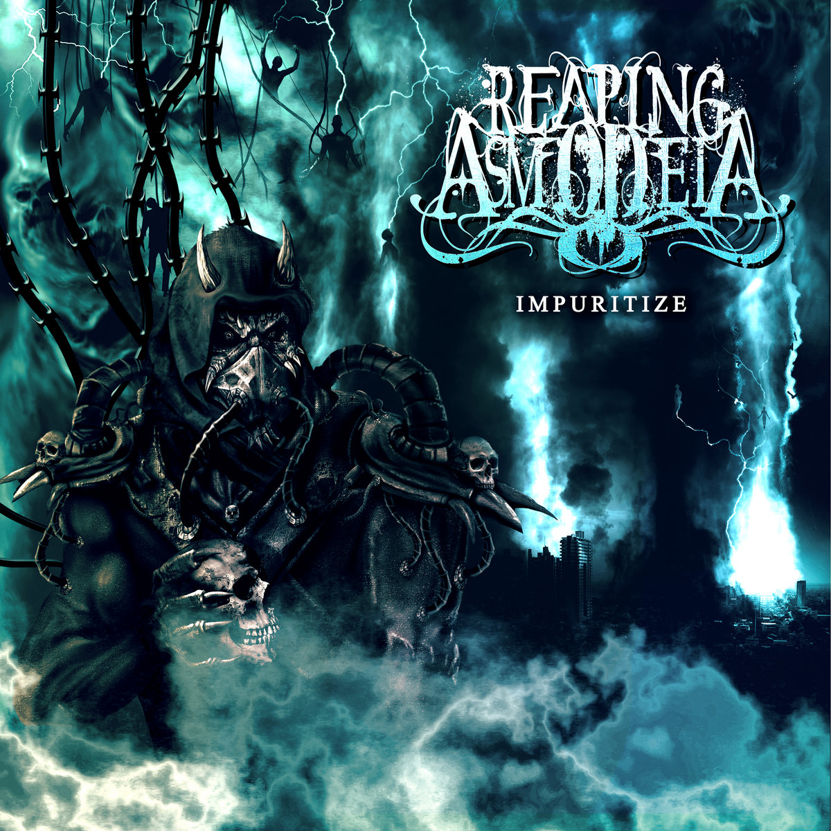 Image result for album art Reaping Asmodeia: Inpuritize