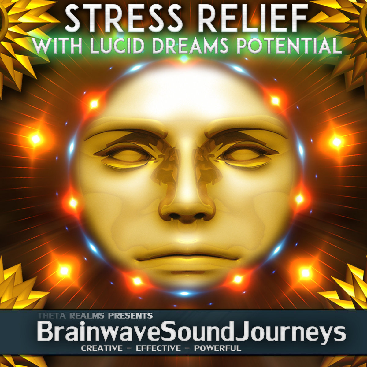 STRESS RELIEF WITH LUCID DREAM POTENTIAL: Theta Realms Tones