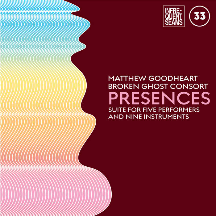 album cover for Presences: mixed suite for five performers and nine instruments