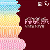Presences: mixed suite for five performers and nine instruments cover art