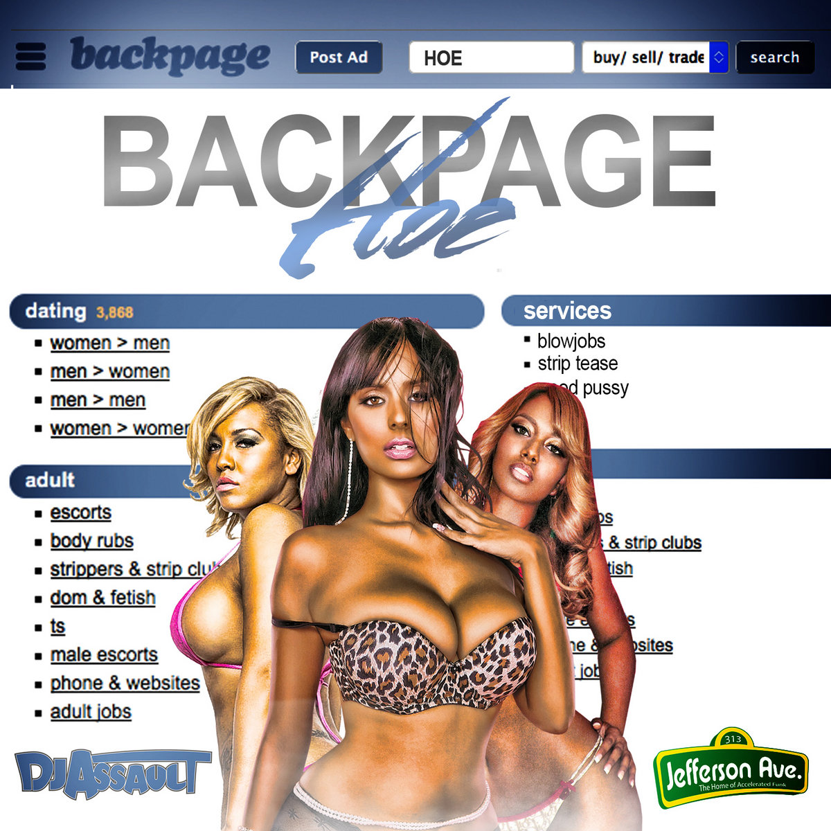 Detroit Backpage Com >> Backpage Hoe Dj Assault