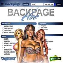 Backpage Hoe cover art
