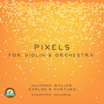 Pixels for the Violin and Orchestra cover art