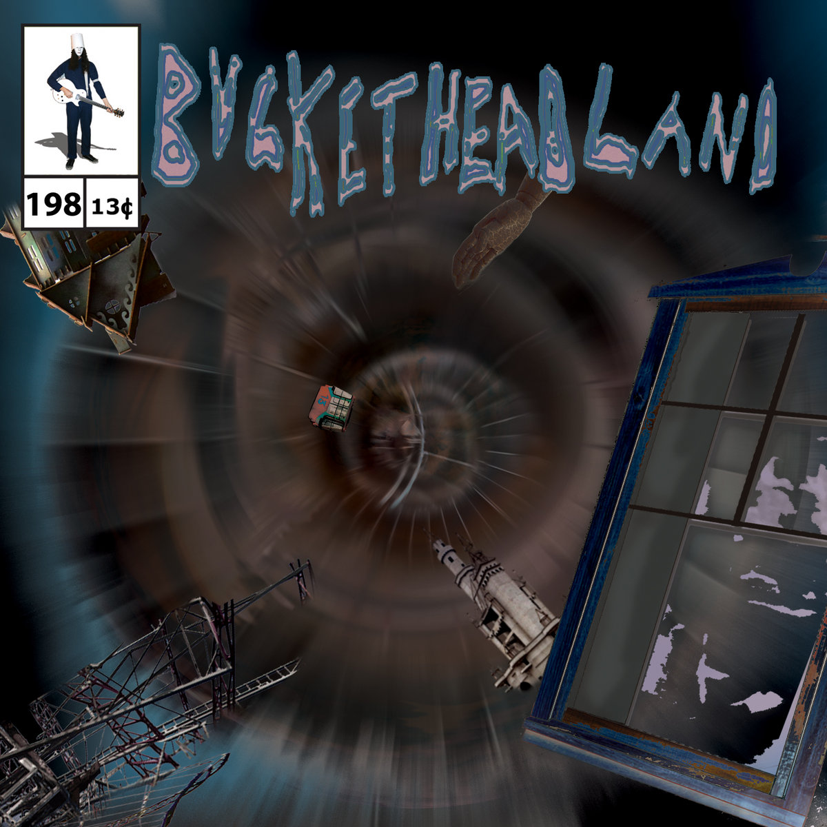 9 days til halloween: eye on spiral | bucketheadland
