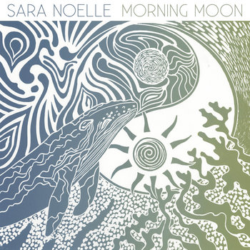 Morning Moon by Sara Noelle