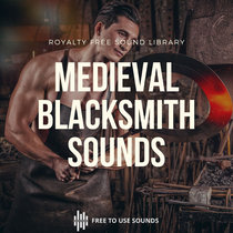 Blacksmith Hammering Sound Effects! Medieval Style cover art