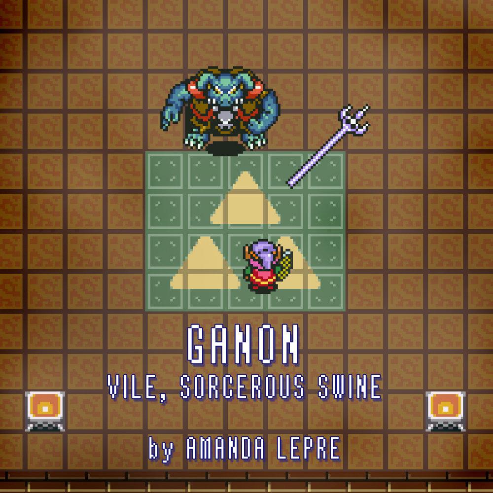 Ganon Vile Sorcerous Swine Legend Of Zelda A Link To The