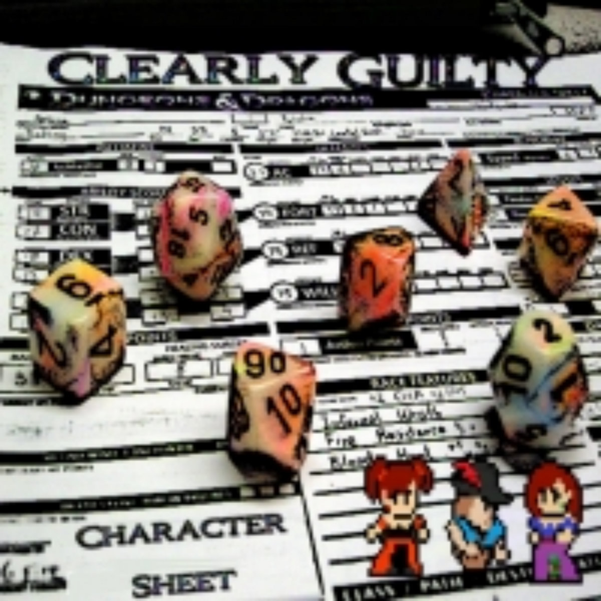 Character Sheet | Clearly Guilty
