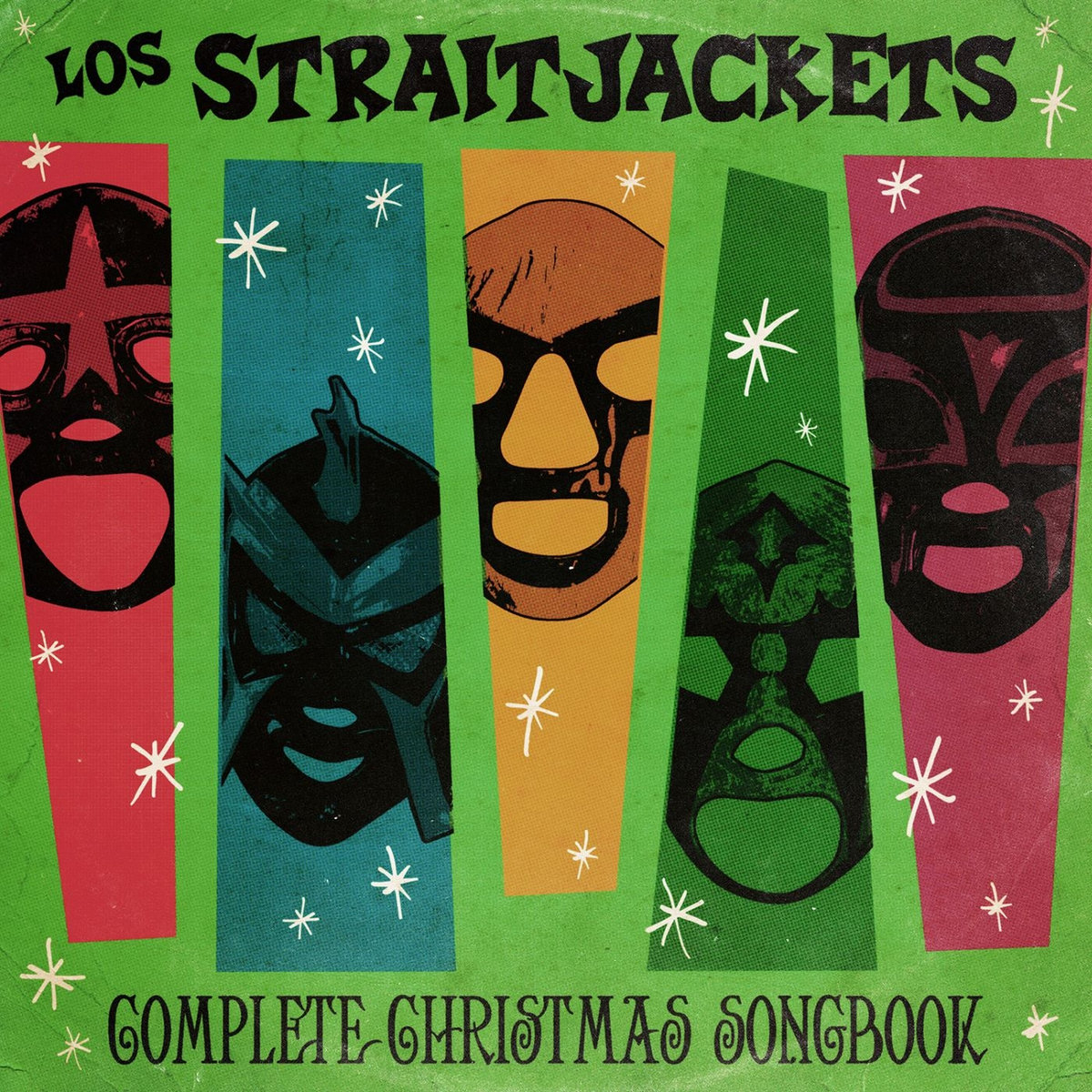 Image result for los straitjackets complete christmas songbook