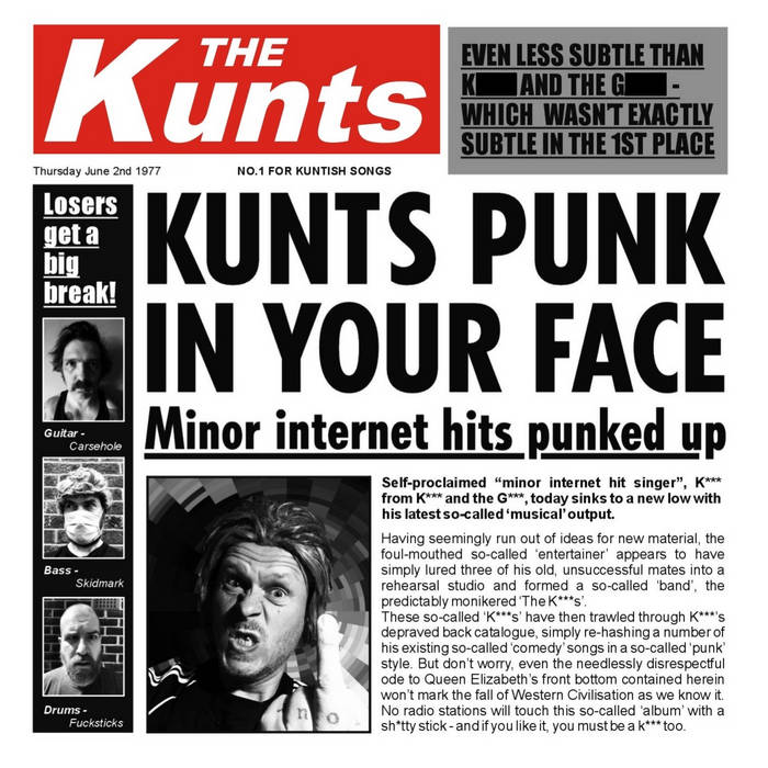 The Kunts - Kunts Punk In Your Face
