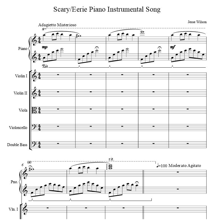 Eerie Creepy and Scary music for your scores dvd s