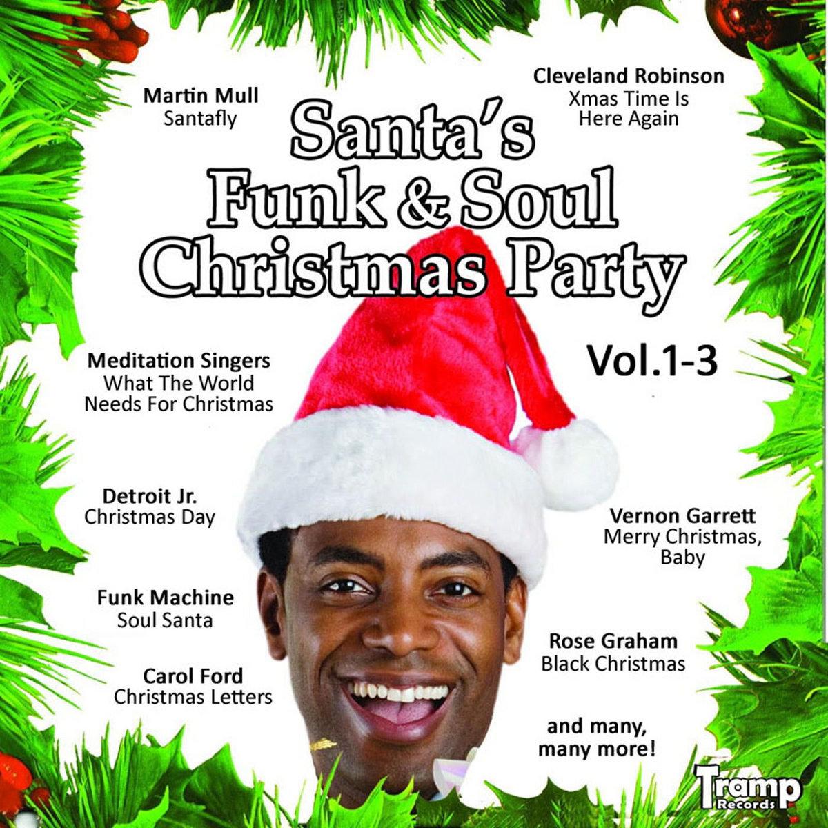Santa's Funk & Soul Christmas Party Vol 1-3 | Tramp Rec