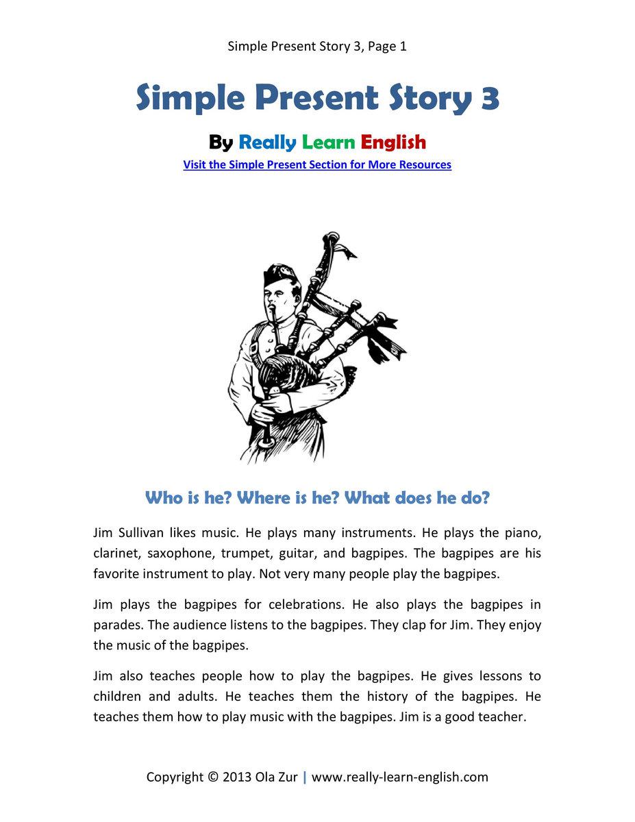 English Story Pdf File
