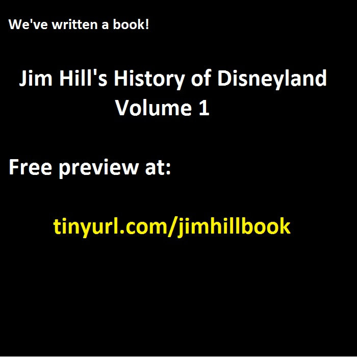 Its a book jim hills history of disneyland volume 1 the disney by the disney dish podcast with jim hill media fandeluxe Choice Image